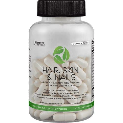 Hair Skin & Nails - 120 Capsules.