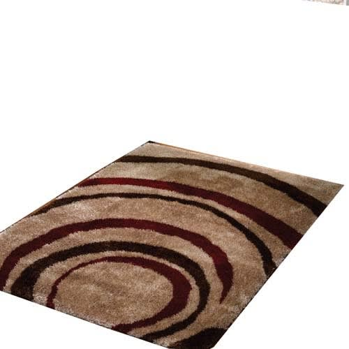 Centre Rug Red & Brown 160 By 230 Cm