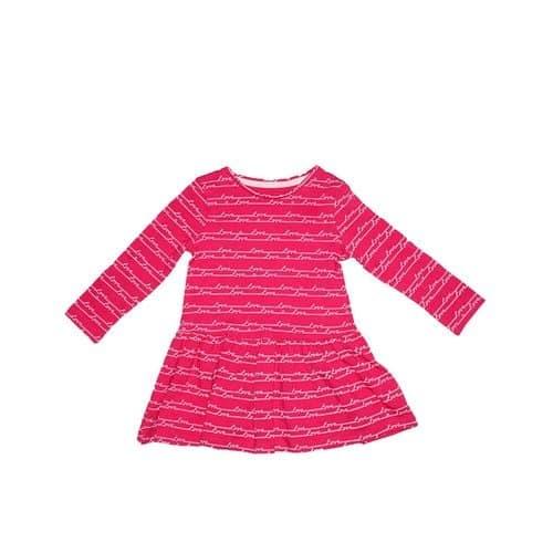 81baa0960 F & F Baby Girls' Long Sleeve Dress - Pink | Konga Online Shopping