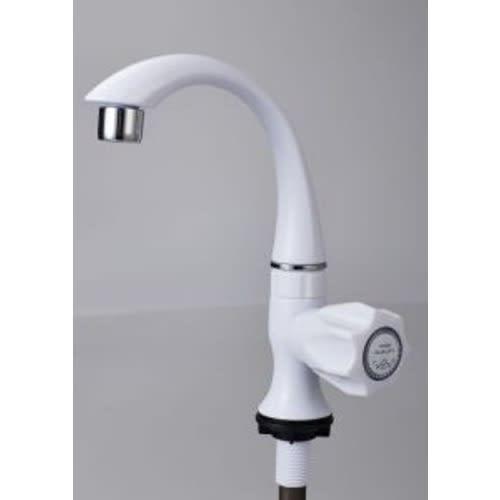 Plastic Sink Tap Cock PVC Hose Bibcock Garden