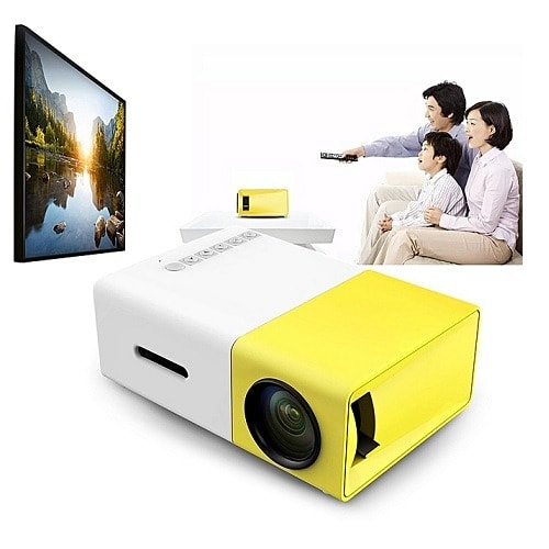 Mini YG300 Home Media Player Projector