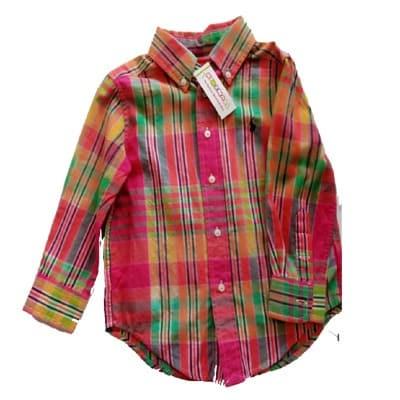 6afb602fb Ralph Lauren Plaid Cotton Twill Button Front Workshirt   Konga ...