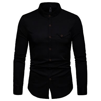be7bd85fc5f647 Basic High Quality Solid Color Mens L..