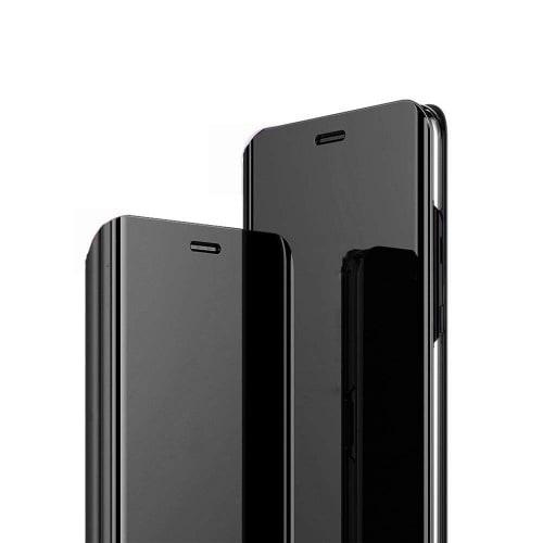 info for c87a1 3c56d Clear View Flip Case For Galaxy A6 Plus 2018 - Black