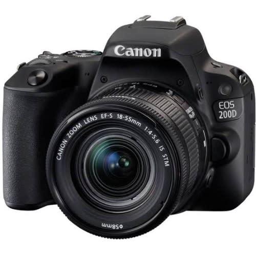 200d Camera 18-55mm Lens