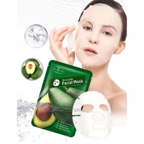 Moisturizing Anti Wrinkle Whitening Natural Avocado Facial Mask.