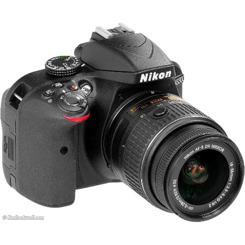 D3300 Profesional Camera 18-55mm Lens