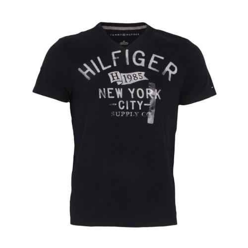 8e0681a3 Tommy Hilfiger V-neck T-shirt - Blue   Konga Online Shopping