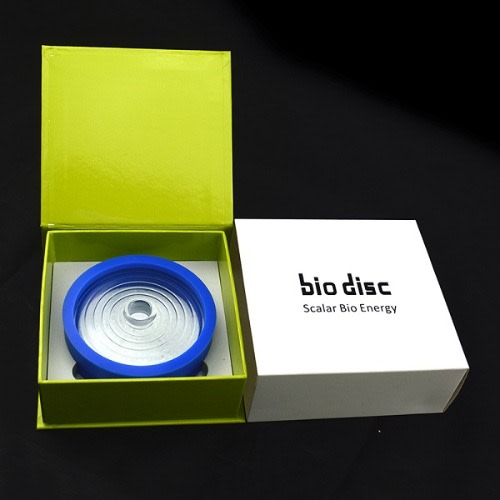 Quantum Bio Disc 4 Scalar Energy With Free Silicone Protection