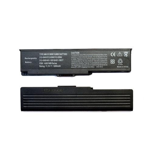 Laptop Battery For 1420, Vostro 1400 312-0543 312-0584 451-10516 Ft080 Ft.