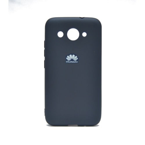 check out f2376 46ab0 Silicon Back Cover Huawei Y3 - Deep Blue