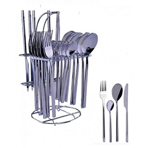 Stainless Steel Cutlery Set - 24 Pieces