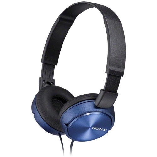 Mdrzx310l Foldable Headphone - Metallic Blue