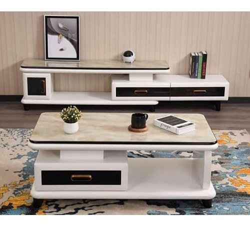 Modern Living Room Tv Stand With Center, Living Room Center Table