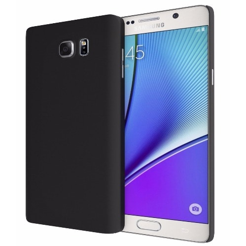 pretty nice 621d2 bb2ca Samsung Galaxy Note 5 Back Case - Black