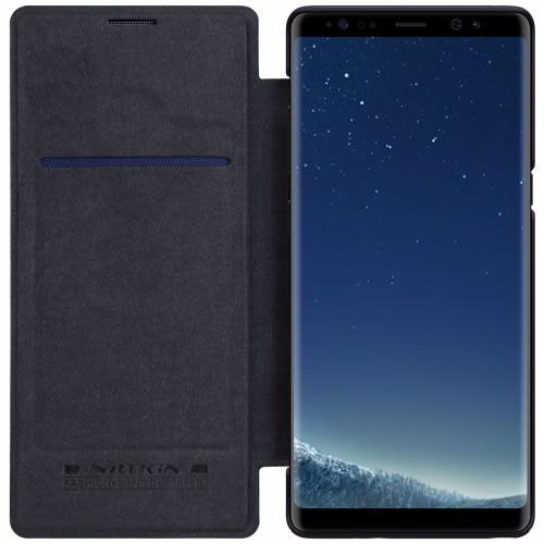 promo code b724d 06679 Samsung Galaxy Note 8 Flip Leather Case - Black
