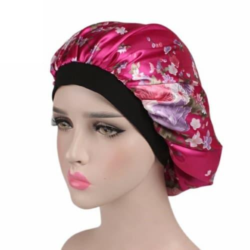 Image result for floral satin bonnet gif