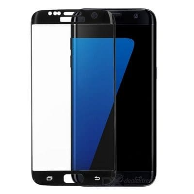 Screen Protector for Samsung S7 - Black