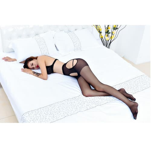 842a6c5406c BL Stylish Stockings With Garter Belt