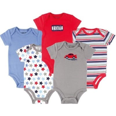 fe02da8c2 Luvable Friends Set of 5 Bodysuit
