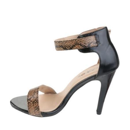 26013f4c8c Sexy Snakeskin High Heeled Sandals - Black   Konga Online Shopping