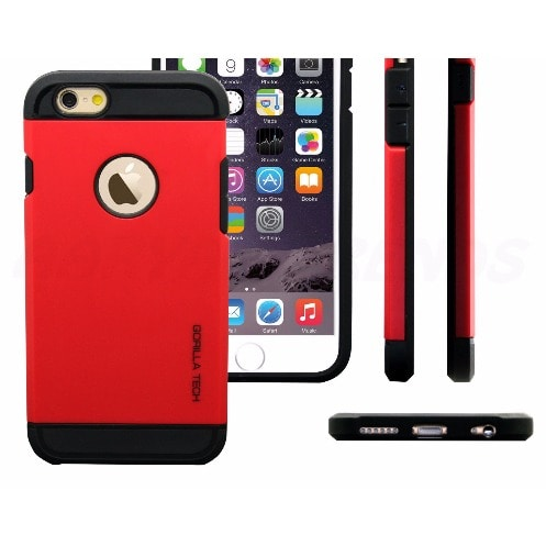 buy online ac9d4 a5d2e Shockproof Gorilla Tech Phone Case for iPhone 7 - Red