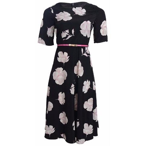 /S/h/Short-Sleeved-Flare-Dress---Black-Pink-7869698.jpg