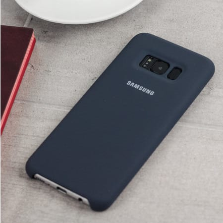new style 519a4 c46f4 Silicone Cover for Samsung S8 - Black