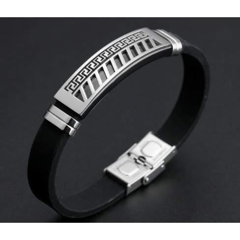 /S/i/Silver-Pendant-Silicone-Bracelet-7918453.jpg