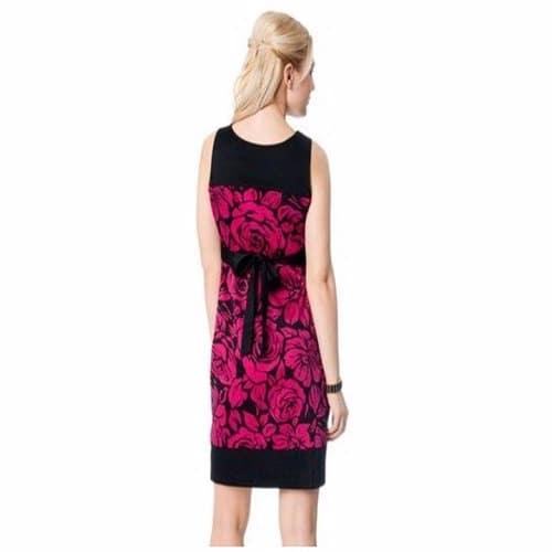/S/l/Sleeveless-Pleated-Maternity-Dress---Black-Pink-5005301_2.jpg