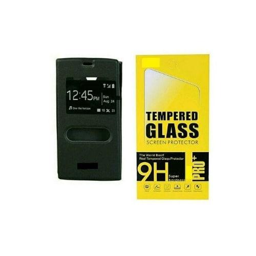 Smart Flip Case For Infinix HOT 2 x510 - Black