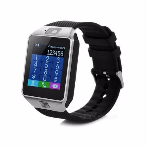 Smart Watch With Sim Card Slot Dz09 Silver Konga Online Shopping