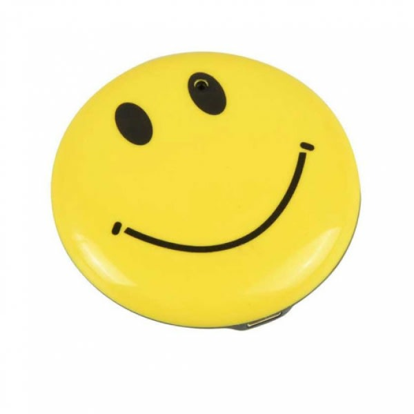 Smiley Face Badge 4GB Spy Video Recorder with Audio Recording and Photo Taking Function