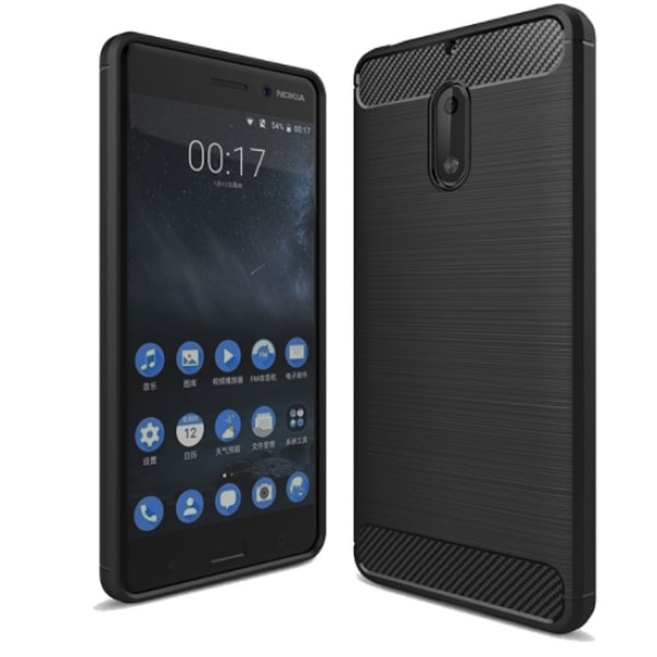 timeless design 0807d ac8ca Soft Silicone Protective Back Case for Nokia 5 - Black