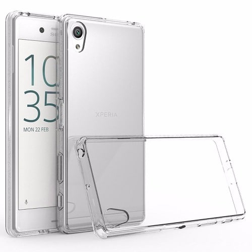 official photos abf62 c7a87 Soft Tranparent Jelly Back Case for Sony Xperia XA Ultra