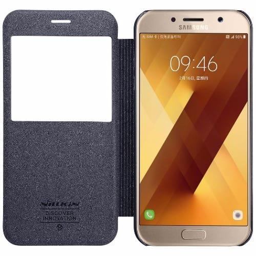 sale retailer 46308 680bf Sparkle Flip Case for Samsung Galaxy A5 2017 -Black