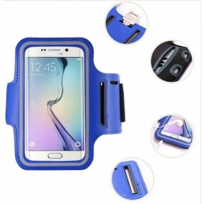 the best attitude b45b9 38c64 Sports Arm Band Case for Phones - Blue