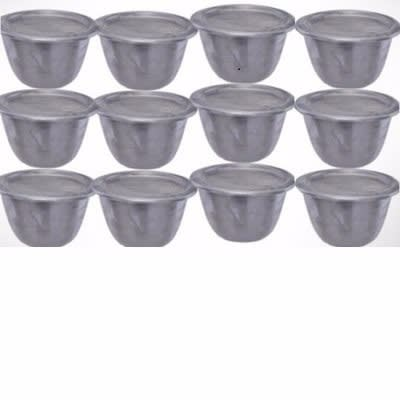 Stainless Steel Moi Moi Plate - 12 pieces | Konga Online Shopping