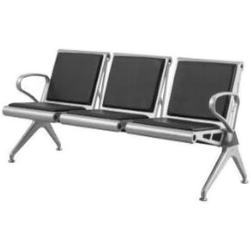 Stainless Steel Airport Bench Black Konga Online Shopping