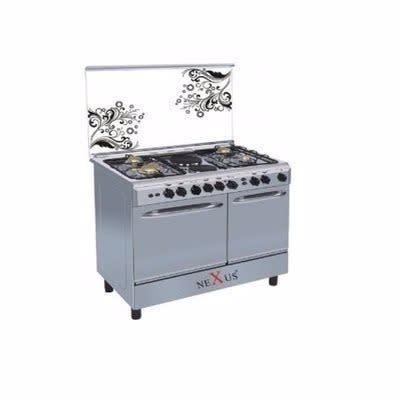 Nexus Standing Gas Cooker - GCCR-NX-8001s - 4 Burners +2 Hotplate | Konga  Online Shopping