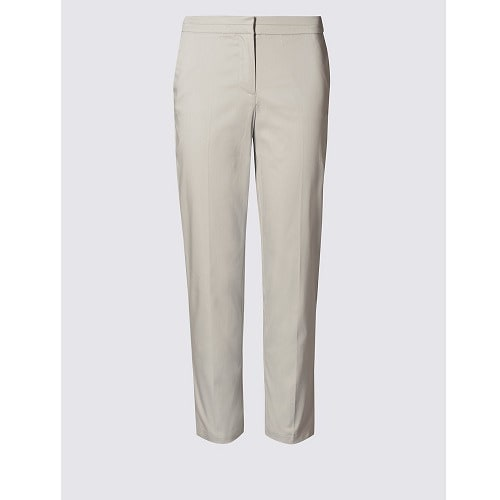 b46c89849de2a2 Marks & Spencer Stitch Detailed Capri Trouser -Beige | Konga Online ...