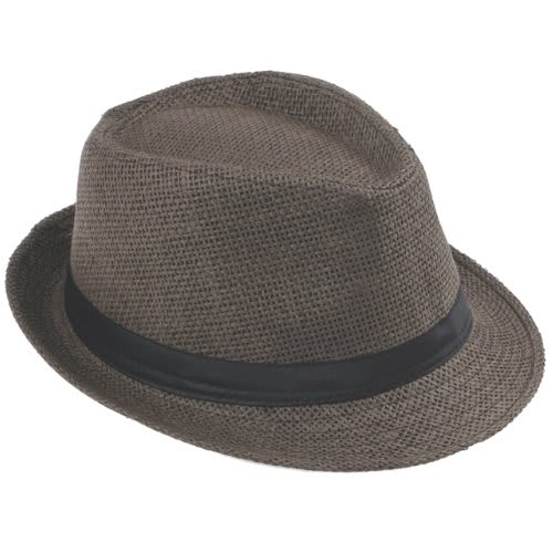 31e1eaf2e7f Straw Fedora Hat - Brown | Konga Online Shopping