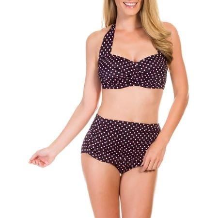 75a9fa6211438 Suddenly Slim by Catalina Women's Slimming High-Waisted Bikini 2 ...