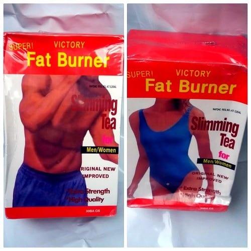 victory fat burner slimming tea reviews