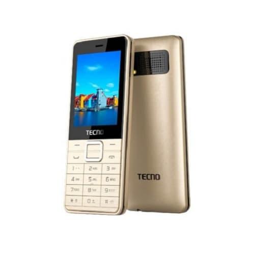 Tecno T349 - Dual Sim - Bluetooth - Gold   Konga Online Shopping