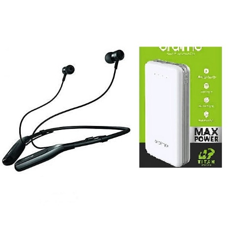20000maH Maxpower Power Bank & Jabra Headset