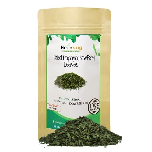 Organic Dried Papaya(pawpaw) Leaves(100g)