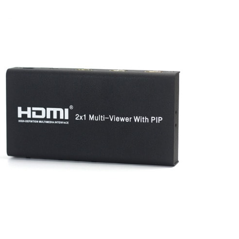 Hdmi Multi Viewer Switcher With Pip 2 In 1 Out