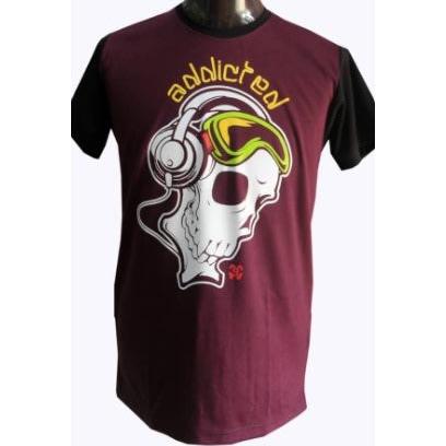 343081a594485 Custom-Designed T-Shirt - Wine Red