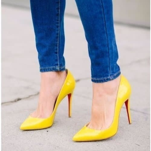 Forever 21 High Heel Pointy Toe Pumps